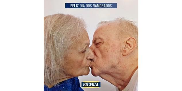 BIGFRAL EXALTA O AMOR MADURO NO DIA DOS NAMORADOS